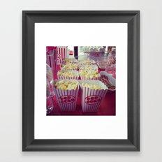 Popcorn Framed Art Print