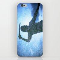 samurai iPhone & iPod Skins featuring Samurai by Deprofundis