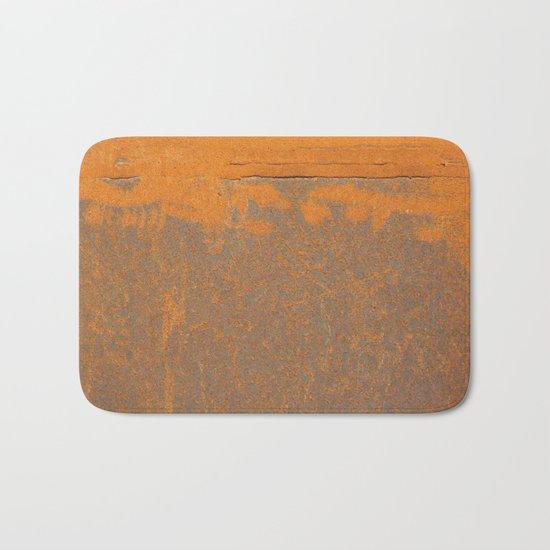 Iron and Rust Bath Mat