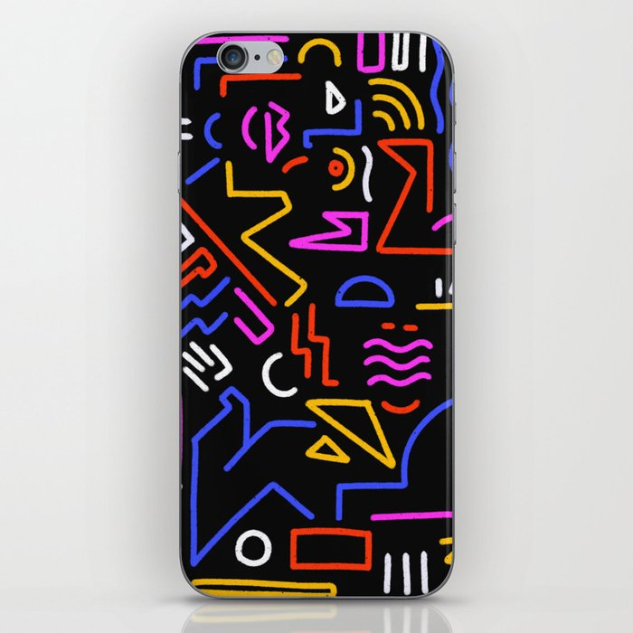 Rock the box iPhone Skin