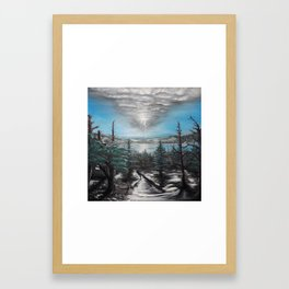 Nothing But Blue Skies Framed Art Print
