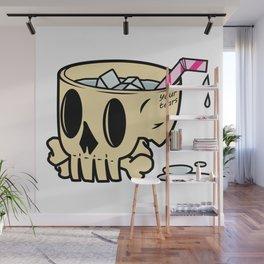 Skull Tears Wall Mural