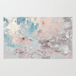 Pastel marble texture Rug