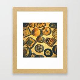 Scattered harmony Framed Art Print