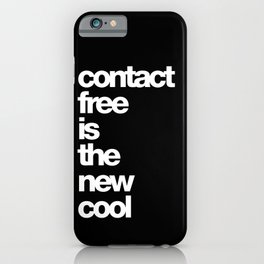 contact free is the new cool iPhone Case