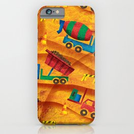 Construction Site iPhone Case