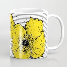 Yellow poppy Coffee Mug