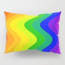 Color Wheel wave Pillow Sham