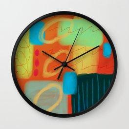 Hot Abstract Digital Painting Wall Clock