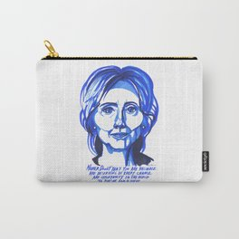 Hillary Rodham Clinton Carry-All Pouch