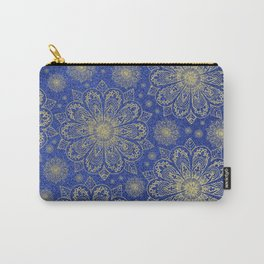 Midnight Mandala Carry-All Pouch