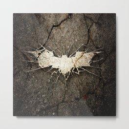 Batmann Logo Metal Print
