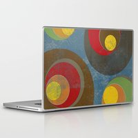 it crowd Laptop & iPad Skins featuring Crowd by Metron