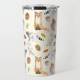 Woodland Critters Travel Mug