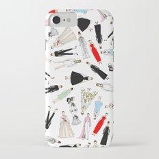 Audrey Hepburn Fashion (Scattered) Slim Case iPhone 7