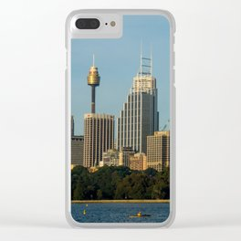 Sydney Central Business District Clear iPhone Case