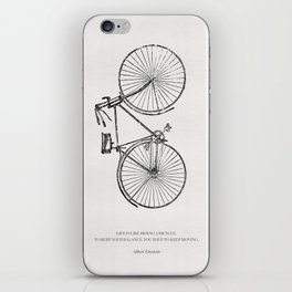 The Bicycle iPhone Skin