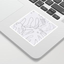 Monstera Illustration 02 Sticker