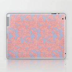 Trailing Curls // Pink & Blue Pastels Laptop & iPad Skin