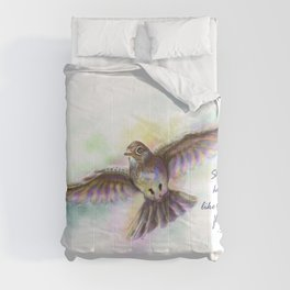 Natasha's Skylark-Stevie Nicks Quote Comforters