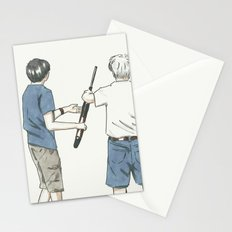 Pass The Gun Stationery Cards