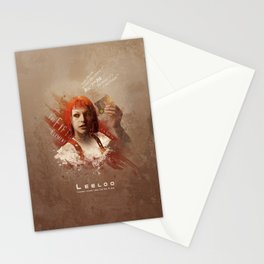 Leeloo Dallas, Multipass! Stationery Cards