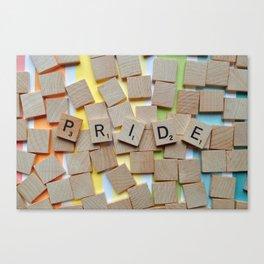 LGBT Pride Tiles Canvas Print