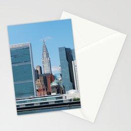 New York Skyline - UN Building Stationery Cards