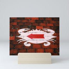 Crab Alley Mini Art Print
