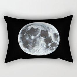 Full Moon Painting Rectangular Pillow