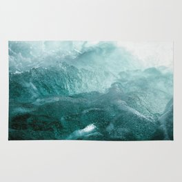 Sea Waves In Italy Rug