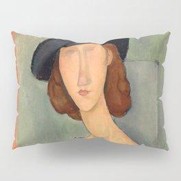 "Amedeo Modigliani ""Jeanne Hébuterne (Au chapeau)"" Pillow Sham"