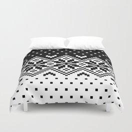 Black & White Pattern Duvet Cover