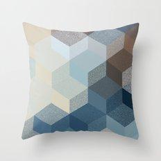 CUBE 3 SAND Throw Pillow