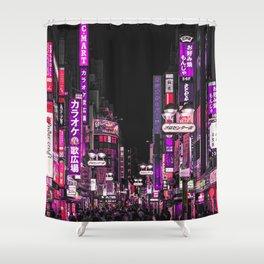 TOKYO CITY Shower Curtain