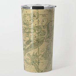 Antique Celestial Map June May April Travel Mug