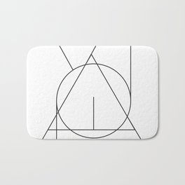 Art in balance Bath Mat