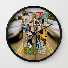 In motion Wall Clock