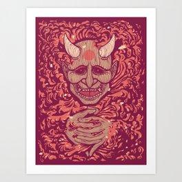 Oni-Firaga Art Print