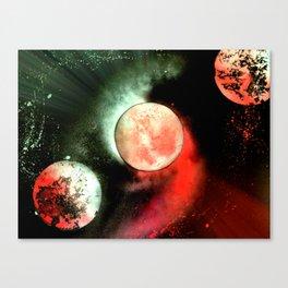 Space Case Canvas Print