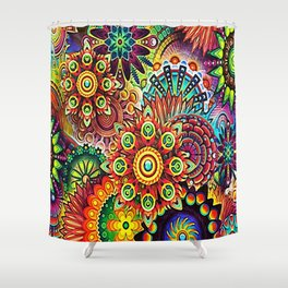 Mandala Abstract Shower Curtain
