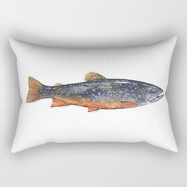 Brook Trout Rectangular Pillow