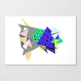 Tictoc Abyss Fish Canvas Print