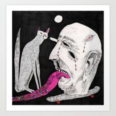 Stares. 2015.  Art Print