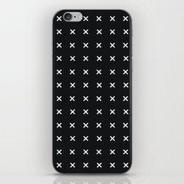 Basics Cross iPhone Skin