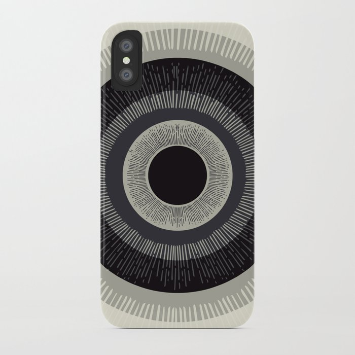 Eye Just Can't iPhone Case