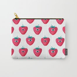 Cry Berry Pattern Carry-All Pouch
