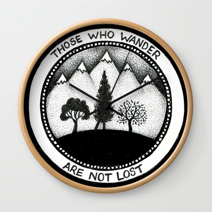 Wanderling Woods Wall Clock