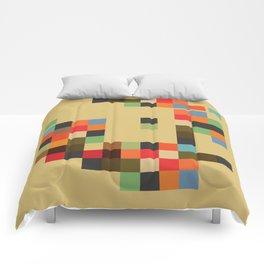 Mid Century Textile Series 1_1 Comforters