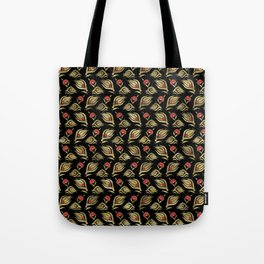 Turkish tulip - Ottoman tile pattern  4 Tote Bag